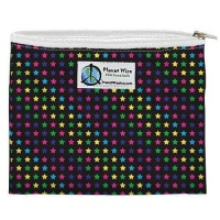 Planetwise Reusable Zipper Sandwich / Snack Bag Sprinkled Stars