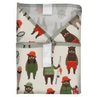 Planetwise Reusable Sandwich Wrap Brawny Bears