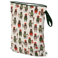 Planetwise Reusable Wet Bag Brawny Bears