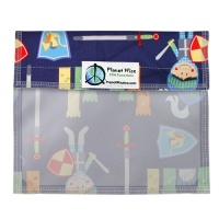 Planetwise Reusable Window Sandwich Bag Good Knight
