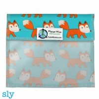 Planetwise Reusable Window Sandwich Bag Sly