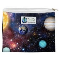 Planetwise Reusable Zipper Sandwich / Snack Bag Far Far Away