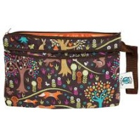 Planetwise Reusable Wet/Dry Clutch Bag Jewel Woods