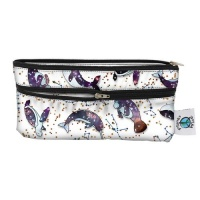 Planetwise Reusable Wet/Dry Travel Bag Celestial Sea