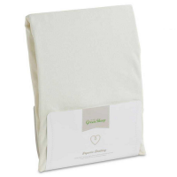 The Little Green Sheep Organic Jersey Fitted Sheet - Single Bed