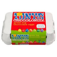 Tonys Chocolonely Fairtrade Chocolate Easter Egg Selection Box