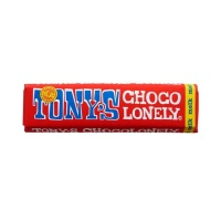 Tonys Chocolonely 100% Slave Free Chocolate Bar - Milk Chocolate Case of 35 Small Bars