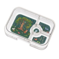 Yumbox Extra Tray for Panino Yumbox (4 compartments) - Forest