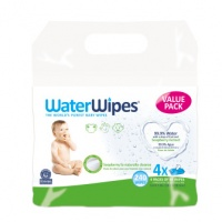 WaterWipes with Soapberry Extract for Growing Babies - 4 Pack