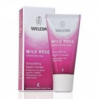 Weleda Wild Rose Smoothing Night Cream Moisturiser - Effective Skincare for Your Thirties - 30 ml