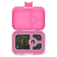 Yumbox 4 Compartment Panino Lunchbox Stardust Pink