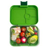 Yumbox Panino Leak Free Lunchbox 4 Compartments Avocado Green