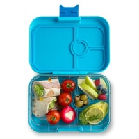 Yumbox Panino Leak Free Lunchbox 4 Compartments Blue Fish