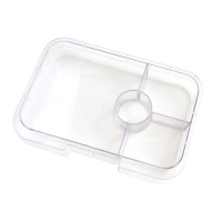 Yumbox Extra Tray for Tapas Yumbox (4 compartments) - Clear