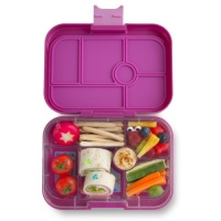 Yumbox Original Leak Free Lunchbox 6 Compartments Malibu Purple