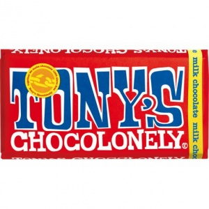 Tonys Chocolonely 100% Slave Free Chocolate Bar - Milk Chocolate