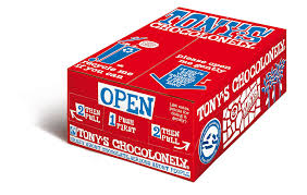 Tonys Chocolonely 100% Slave Free Chocolate Bar - Milk Chocolate Case