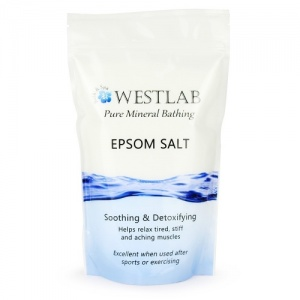 Westlab Pure Mineral Epsom Salts for Relaxation